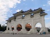 Entrada del Chiang Kai-shek Memorial Hall