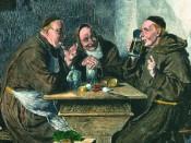 Monjes creadores de la cerveza Paulaner, de Munich