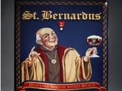 Poster de la cerveza de Abadia St. Bernardus