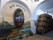 Bodega de madurez del Ron Montero, Motril.