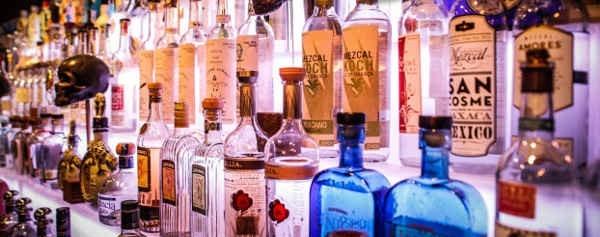 Seleccion de Tequilas y Mezcales de Corazon de Agave