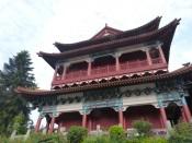 Templo de la destileria Moutai