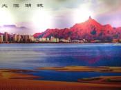 Wuhai y su lago del Rio Amarillo