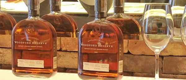La gama del bourbon Woodford Reserve