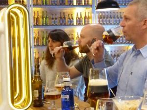 Cata de la gama de cervezas San Miguel