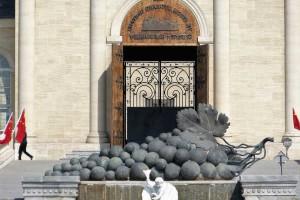 Entrada de la bodega Chateau Changyu Moser XV