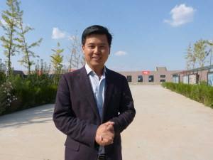 Shao Quing Song, propietario y winemaker de la bodega Lan Cui